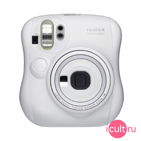 Фотокамера Fujifilm Instax Mini 25 White белая