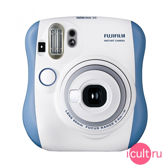 Фотокамера Fujifilm Instax Mini 25 Blue синяя