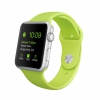 Смарт-часы Apple Watch Sport 38 мм Silver/Green серебристые/зеленые MJ2U2