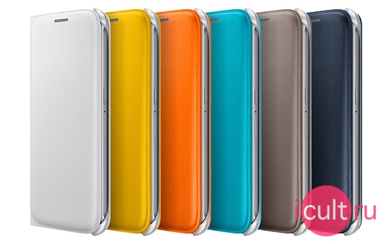 Samsung Flip Wallet Cover Brown