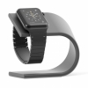 Док-станция Nomad Stand Space Gray для Apple Watch темно-серая