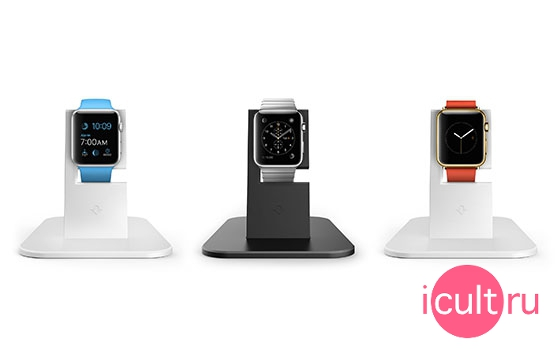 Twelve Sotuh HiRise Apple Watch Black