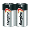 Батарейки Energizer D Battery 2 Pack D-LR20