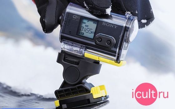 Sony AS20 Action Cam Wi-Fi Black