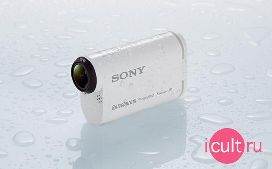 Sony AS200V Action Cam Wi-Fi Black