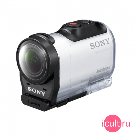 Экшн камера Sony AZ1 Action Cam Mini Wi-Fi White белая HDR-AZ1