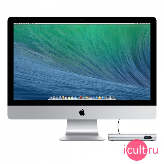 Док-станция Belkin Thunderbolt 2 Express HD Dock для Mac серебристая F4U085tt