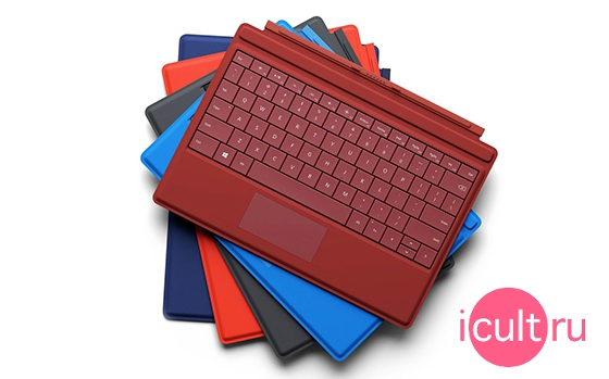 Microsoft Type Cover Bright Blue