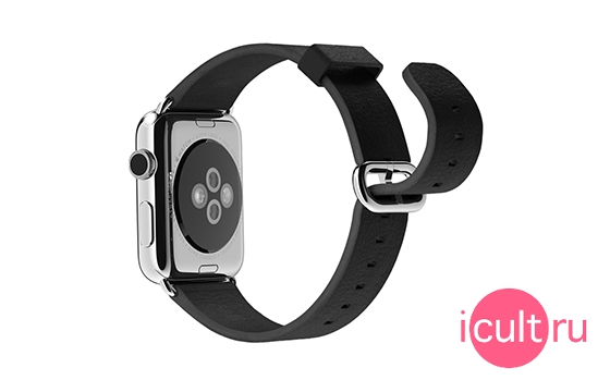 Apple Black Classic Buckle