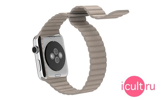 Apple Stone Leather Loop Large