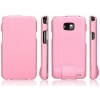 Кожаный чехол SGP Leather Case Argos [Sherbet Pink] для Samsung Galaxy S2 розовый SGP07733