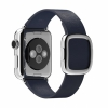 Кожаный ремешок Apple Midnight Blue Modern Buckle Medium для Apple Watch 38 мм синий