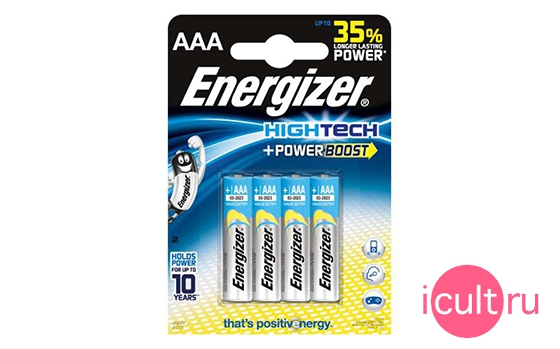 Energizer High Tech + Powerboost