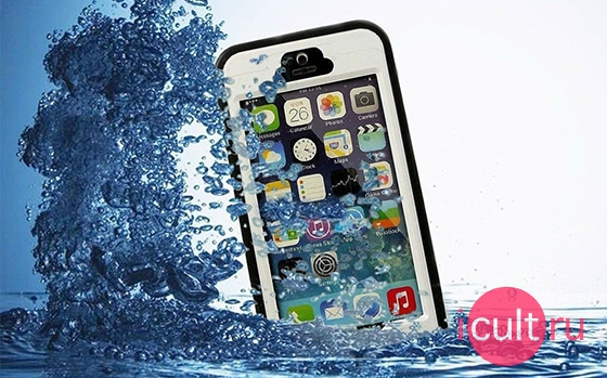 Redppper Waterproof Case iPhone 5 Blue