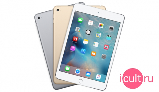 Apple iPad mini 4 ios 9