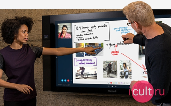 New Microsoft Surface Hub 55