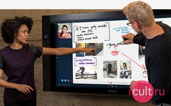 Новый Microsoft Surface Hub 84