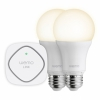 Комплект управляемых ламп Belkin WeMo LED Lighting Starter Set 10W/E27 2 шт. для iOS/Android устройств белые F5Z0489