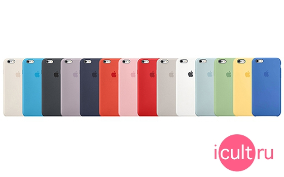 Apple Silicone Case White