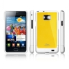 Чехол SGP Samsung Galaxy S2 Case Linear Pure series reventon yellow желтый SGP07957