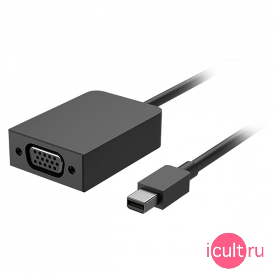 Переходник Microsoft Mini DisplayPort to VGA Adapter для Microsoft Surface 3/Pro 3/4/5/Book/Laptop черный