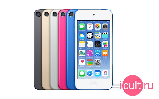 iPod Touch Blue