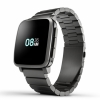Смарт-часы Pebble Time Steel 47 мм Metal Band Black черные