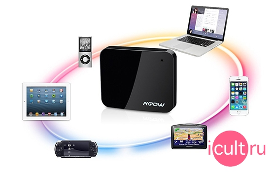 Mpow iDock Bluetooth 4.0 Music Receiver 30-pin