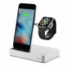 Док-станция Belkin Valet Charge Dock для iPhone/Apple Watch серебристая F8J183vfSLV
