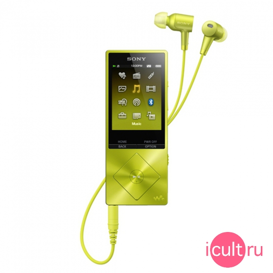 Плеер Sony Walkman 16ГБ Yellow желтый NW-A25HN/YM