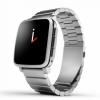 Смарт-часы Pebble Time Steel 47 мм Metal Band Silver серебристые