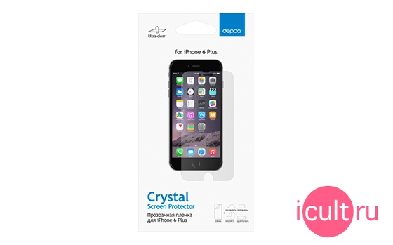 Deppa Screen Protector Crystal