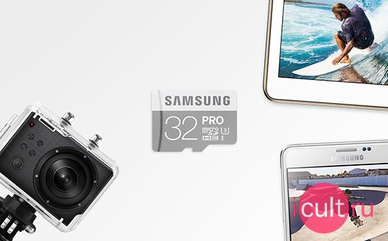 Карта памяти Samsung Pro 64GB