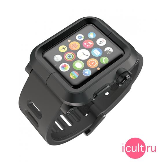 Чехол Cozistyle Leather Chrome Case для iPhone 6s серебристо-черный CLCC6010