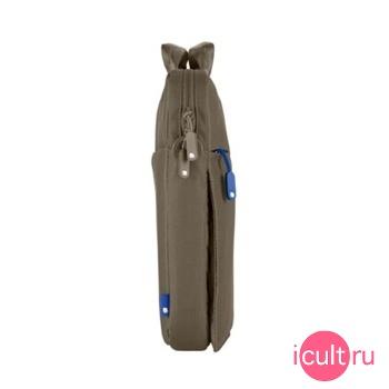 Нейлоновая сумка Incase Nylon Sling Sleeve Taupe/Blue для MacBook Pro 15...