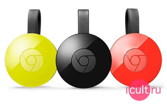 Google Chromecast 2nd Red