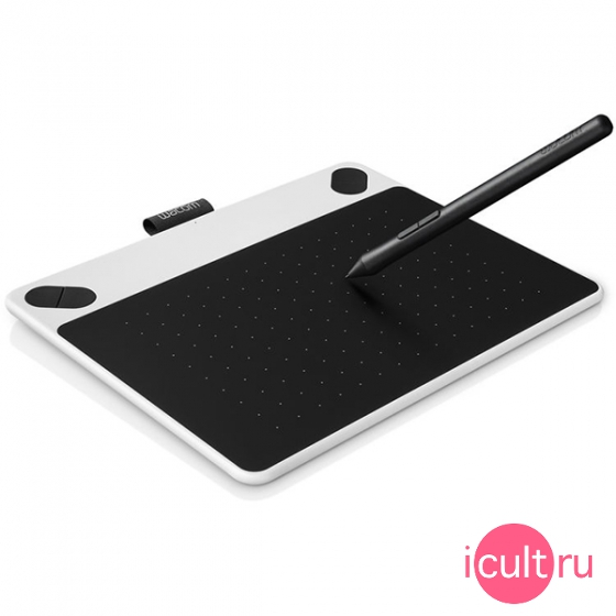 Планшет Wacom Intuos Draw Small White белый CTL-490DW-N