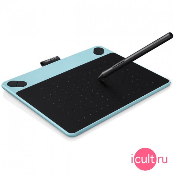Планшет Wacom Intuos Comic Small Mint Blue голубой CTH-490CB-N