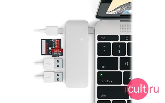 Satechi USB Hub USB-C Silver