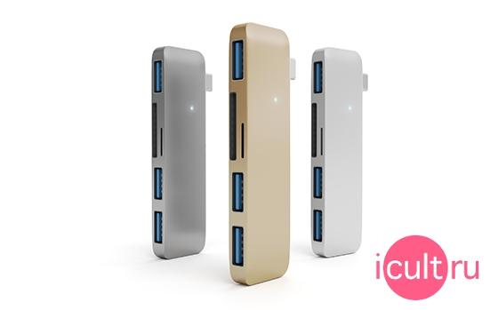Satechi USB Hub 3USB Silver