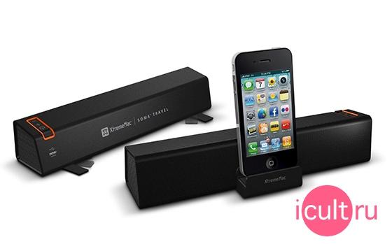 XtremeMac Soma Portable Travel Stereo Speaker
