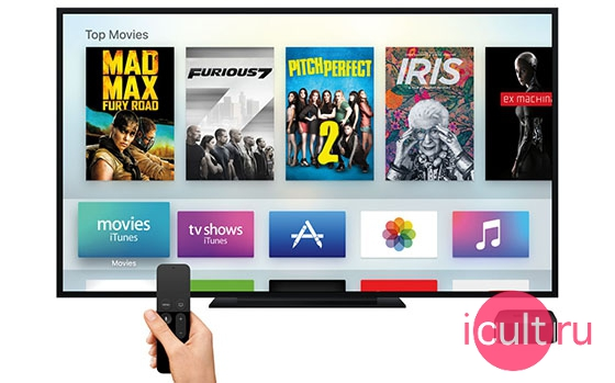 Apple Siri Remote For Apple TV 4