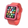 Чехол Speck CandyShell Fit Case Crimson Red/Splash Pink для Apple 38 мм красный/розовый SPK-A4141