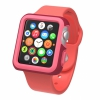 Чехол Speck CandyShell Fit Case Crimson Red/Splash Pink для Apple 42 мм красный/розовый SPK-A4140