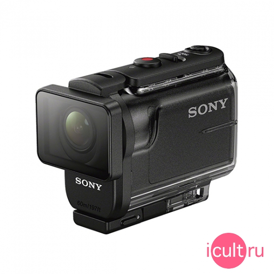Экшн камера Sony Action Cam AS50 Full HD Wi-Fi/Bluetooth Black черная HDR-AS50