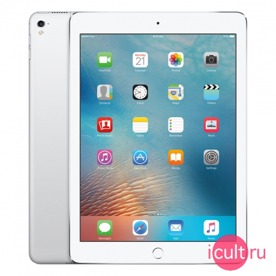 "Планшетный компьютер Apple iPad Pro 9.7"" 32GB Wi-Fi + Cellular (4G) Silver серебристый MLPX2"