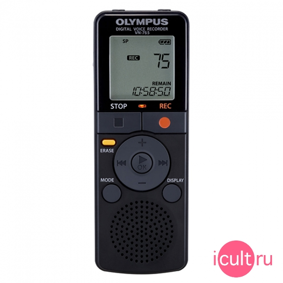 Диктофон Olympus Digital Voice Recorder 4GB Black черный VN-765