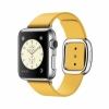 Смарт-часы Apple Watch 38 мм Medium Stainless Steel/Marigold Modern Buckle серебристые/желтые MMFF2