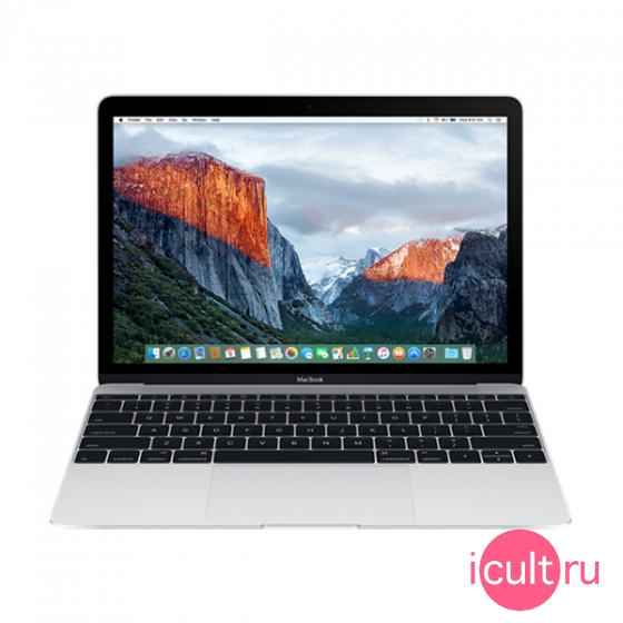 "Ноутбук Apple MacBook 12"" Intel Core M5 2*1,2 ГГц, 8ГБ RAM, 512ГБ Flash Early 2016 Silver серебристый MLHC2"
