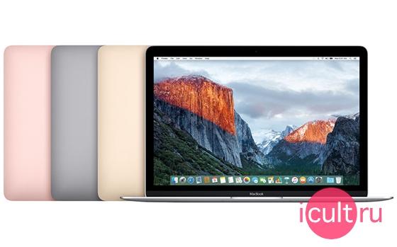 MacBook 12 золотой